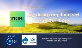 Xây dựng ứng dụng web với ASP.NET Core