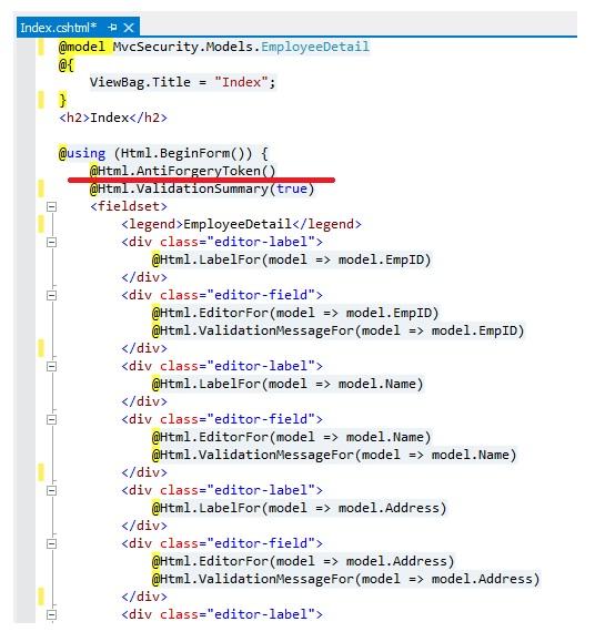 Series bảo mật trong ASP NET MVC - 2: Cross-Site Request Forgery (CSRF)