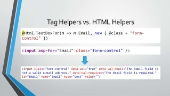 Tag Helpers trong ASP.NET Core MVC
